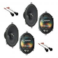 Fits Ford Focus 2000-2007 Factory Premium Speaker Replacement Harmony (2) C68 Package