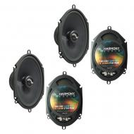 Fits Ford Taurus / Taurus X 2008-2009 Factory Premium Speaker Replacement Upgrade Harmony (2) C68...
