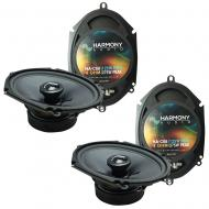 Fits Lincoln LS 2000-2006 Factory Premium Speaker Replacement Harmony (2) C68 Package