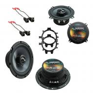 Fits GMC Suburban 1995-1999 Factory Premium Speaker Replacement Harmony C5 C65 Package