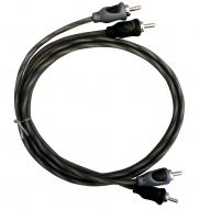 Harmony Audio HA-RCA3 Car Audio 2 Channel Stereo 3 Foot Twisted Pair RCA Cable