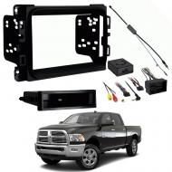 "Ram Chassis Cab 3500 4500 5500 2013 2014 2015 2016 2017  Radio Install Dash Kit without 8"" S..."