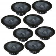 "Harmony Audio HC-CMB65 Car Stereo Cabron Midbass Midrange 6.5"" Speakers - 4 Pair"