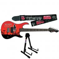 Peavey The Walking Dead Rick Rockmaster Electric Guitar w/ Zombie Strap & Stand
