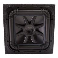 Kicker L7S12 Solo-Baric Car Audio Subwoofer and Sealed Sub Enclosure