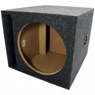 "Car Audio Single 12"" SPL Bass Subwoofer Labyrinth Vent Sub Box Stereo Enclosure"