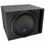 "Universal Car Stereo Vented Port Single 12"" Alpine Type S S-W12D4 Sub Box Enclosure - Final ..."