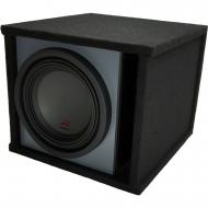"""Universal Car Stereo Paintable Ported 10"""" Alpine Type R R-W10D4 Sub Box Enclosure - Final 2 Ohm"""