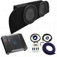 """2003-2015 Infiniti G35 Coupe Alpine Type R R-W10D2 Subwoofer Dual 10"""" Sub Box Enclosure with..."""