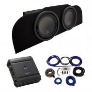 """2003-2015 Infiniti G35 Coupe Alpine Type S S-W10D2 Subwoofer Dual 10"""" Sub Box Enclosure with..."""