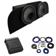 """2003-2015 Infiniti G35 Coupe Alpine SWT-10S4 Subwoofer Dual 10"""" Sub Box Enclosure with S-A60..."""