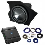 """1993-2002 Pontiac Firebird Coupe Driver Side 10"""" Alpine SWT-10S2 Sub Box Enclosure with S-A6..."""