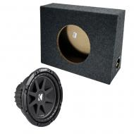 "Kicker 10"" Loaded Truck Sub Box 4 Ohm (10C10-4)"