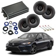 Compatible with Toyota Camry 2018-2019 Factory Speaker Replacement Package Harmony R65 & CXA3...