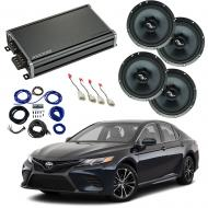 Compatible with Toyota Camry 2018-2019 Premium Speaker Replacement Package Harmony C65 & CXA3...