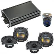 Compatible with BMW Z3 1997-2002 Factory Speaker Replacement Harmony (2) R5 & CXA360.4 Amplifier