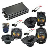 Compatible with Buick Le Sabre 1995-1999 Factory Speaker Replacement Harmony Speakers & CXA36...