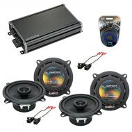 Compatible with Chevy Venture Van 1997-2005 Factory Speaker Replacement Harmony (2)R5 & CXA36...