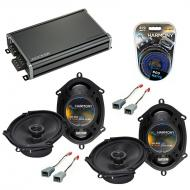 Compatible with Ford Econoline Full Size Van 82-85 Speaker Replacement Harmony (2)R68 & CXA36...