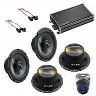 Compatible with GMC Canyon 2004-2012 Factory Speakers Replacement Harmony (2) C65 & CXA360.4