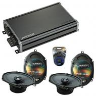 Compatible with Lincoln LS 2000-2006 Factory Speakers Replacement Harmony (2) C68 & CXA360.4