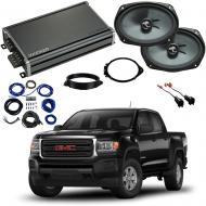 Compatible with GMC Canyon Crew Cab 2015-2018 Premium Speaker Replacement Package C69 & CXA360.4