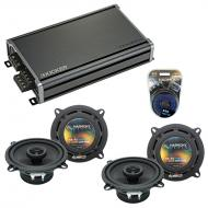 Compatible with Jeep CJ-7 1979-1988 Factory Speaker Replacement Harmony R5 & CXA360.4 Amplifier