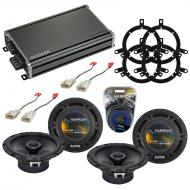 Compatible with Toyota Sequoia 2003-2007 Factory Speaker Replacement Harmony (2) R65 & CXA360...