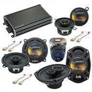 Compatible with Toyota Tacoma 2005-2015 Factory Speaker Replacement Harmony Speakers & CXA360...