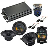Compatible with GMC Savana Van 1996-2000 OEM Speaker Replacement Harmony Replacement & CXA360...