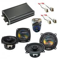 Compatible with Audi 4000 Series 1980-1987 Factory Speaker Replacement Harmony R4 R5 & CXA360...