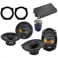 Compatible with Mini Cooper (convertible) 07-08 OEM Speaker Replacement Harmony Speakers & CX...