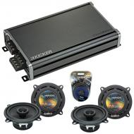 Compatible with Toyota Land Cruiser 1988-1992 OEM Speaker Replacement Harmony (2) R5 & CXA360...