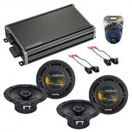 Compatible with Chevy Colorado 2004-2012 Factory Speaker Replacement Harmony (2) R65 & CXA360...