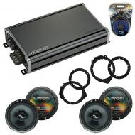 Compatible with Chevy Express 2008-2017 OEM Speakers Replacement Harmony (2) C65 & CXA360.4