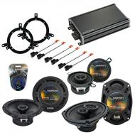 Compatible with Chrysler 300M 1999-2004 Factory Speaker Replacement Harmony Speakers & CXA360...