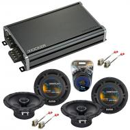 Compatible with Subaru Impreza 1993-2007 Factory Speaker Replacement Harmony (2) R65 & CXA360.4