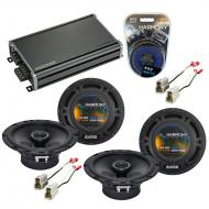Compatible with Subaru Outback 2000-2004 Factory Speaker Replacement Harmony (2) R65 & CXA360.4