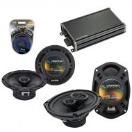 Compatible with Subaru SVX 1992-1997 Factory Speaker Replacement Harmony R65 R69 & CXA360.4 Amp