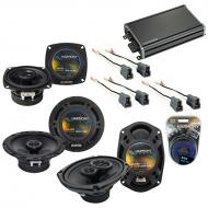 Compatible with Eagle Talon 1995-1998 OEM Speaker Replacement Harmony R65 R4 R69 & CXA360.4 Amp