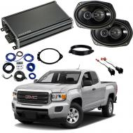 Compatible with GMC Canyon Ext Cab 2015-2018 Factory Speaker Replacement Package R69 & CXA360.4