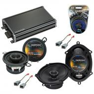 Compatible with Mercury Cougar 83-88 OEM Speaker Replacement Harmony R35 R68 & CXA360.4 Amp