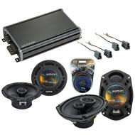 Compatible with Mitsubishi Eclipse 95-05 OEM Speaker Replacement Harmony R65 R69 & CXA360.4 Amp