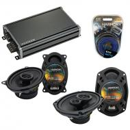 Compatible with Oldsmobile LSS 1996-1999 OEM Speaker Replacement Harmony R46 R69 & CXA360.4 Amp