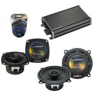 Compatible with Porsche 928 1994-1996 Factory Speaker Replacement Harmony R4 R65 & CXA360.4 Amp