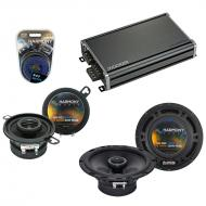 Compatible with Saturn Sky 2006-2009 Factory Speaker Replacement Harmony R65 R35 & CXA360.4 Amp