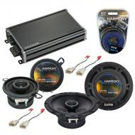 Compatible with Toyota MR2 1991-1995 Factory Speaker Replacement Harmony R65 R35 & CXA360.4 Amp