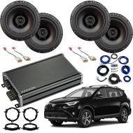 Compatible with Toyota RAV-4 2014-2018 Factory Speaker Replacement Package Harmony R65 CXA360.4