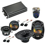 Compatible with Chevy Cavalier 1982-1990 OEM Speaker Replacement Harmony R35 R69 & CXA360.4 Amp