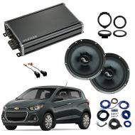 Compatible with Chevrolet Spark 2016-2018 Premium Speaker Replacement Package Harmony C65 CXA360.4